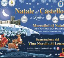 MERCATINI DI NATALE 2019: CASTELLO DI LETTERE – 9 NOVEMBRE- 26 DICEMBRE 2019