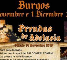 PRENDAS DE ADELASIA – BURGOS – 30 NOVEMBRE- 1 DICEMBRE 2019