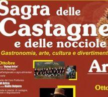 SAGRA DELLE CASTAGNE E DELLE NOCCIOLE – ARITZO – 26-27 OTTOBRE 2019