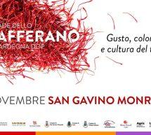 SAGRA DELLO ZAFFERANO – SAN GAVINO MONREALE – 3-9 NOVEMBRE 2019