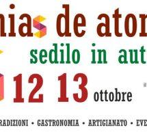 ZENIAS DE ATONZU – SEDILO – 12-13 OTTOBRE 2019