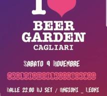 I LOVE BEER GARDEN  -CAGLIARI – SABATO 9 NOVEMBRE 2019