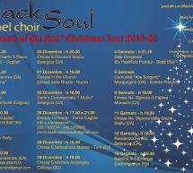 CHRISTMAS TOUR – BLACK SOUL GOSPEL CHOIR – 1 DICEMBRE – 18 GENNAIO 2020