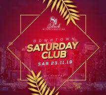 DOWNTOWN SATURDAY CLUB – CLUB 84-  CAGLIARI – SABATO 23 NOVEMBRE 2019