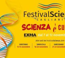 XII EDIZIONE FESTIVALSCIENZA – EXMA' – CAGLIARI -7-12 NOVEMBRE 2019
