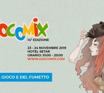 GIOCOMIX – HOTEL SETAR – QUARTU SANT'ELENA – 23-24 NOVEMBRE 2019