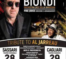 MARIO BIONDI – TRIBUTE TO AL JARREAU – SASSARI & CAGLIARI – 28-29 DICEMBRE 2019