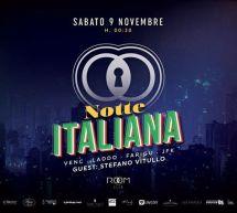 NOTTE ITALIANA – ROOM CLUB – CAGLIARI – SABATO 9 NOVEMBRE 2019