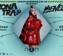 ZONA TRAP X MUEVELO – ROOM CLUB – CAGLIARI – VENERDI 15 NOVEMBRE 2019