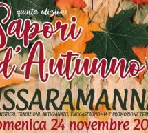 SAPORI D'AUTUNNO – USSARAMANNA – DOMENICA 24 NOVEMBRE 2019