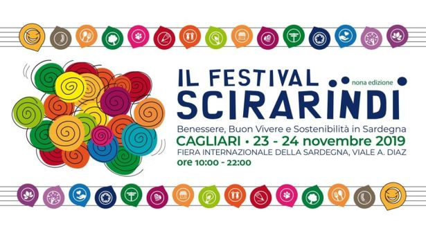 9° FESTIVAL SCIRARINDI – FIERA INTERNAZIONALE DELLA SARDEGNA – CAGLIARI -23-24 NOVEMBRE 2019