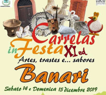 CARRELAS IN FESTA – BANARI – 14-15 DICEMBRE 2019