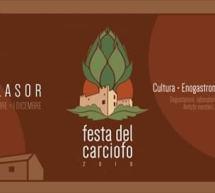 FESTA DEL CARCIOFO – VILLASOR – 29 NOVEMBRE – 1 DICEMBRE 2019