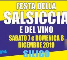 FESTA DELLA SALSICCIA E DEL VINO – SILIGO – 7-8 DICEMBRE 2019