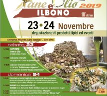 PANE E OLIO – ILBONO -23-24 NOVEMBRE 2019