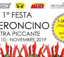 1° FESTA DEL PEPERONCINO EXTRA PICCANTE – TURRI – DOMENICA 10 NOVEMBRE 2019