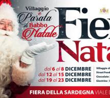 VILLAGGIO DI BABBO NATALE – FIERA DI CAGLIARI – 6-23 DICEMBRE 2019