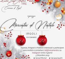 MERCATINI DI NATALE – IRGOLI – 21-22 DICEMBRE 2019