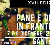 PANE E OLIO IN FRANTOIO – SANTADI – 7- 8 DICEMBRE 2019