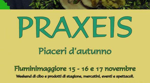 PRAXEIS- FLUMINIMAGGIORE – 15-16-17 NOVEMBRE 2019