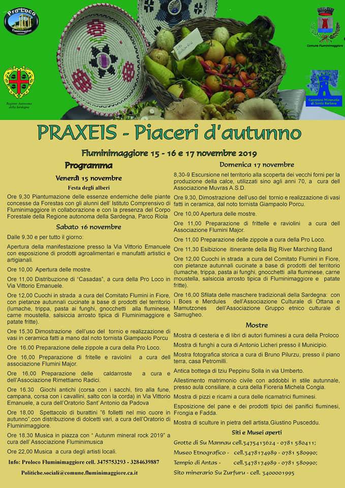 programma_praxeis_fluminimaggiore_manifesto_2019