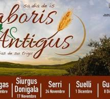 SABORIS ANTIGUS – SIURGUS DONIGALA – DOMENICA 17 NOVEMBRE 2019
