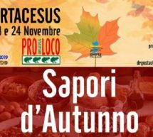 SAPORI D'AUTUNNO – ORTACESUS – 23-24 NOVEMBRE 2019
