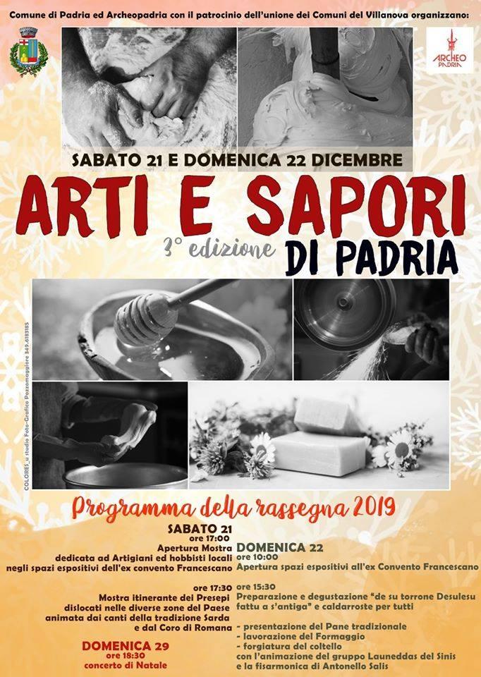 ARTI SAPORI PADRIA