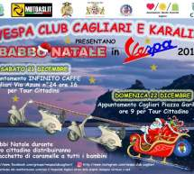 BABBO NATALE IN VESPA – CAGLIARI – 21-22 DICEMBRE 2019