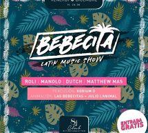 BEBECITA LATIN MUSIC SHOW – CLUB 84 – CAGLIARI – VENERDI 6 DICEMBRE 2019