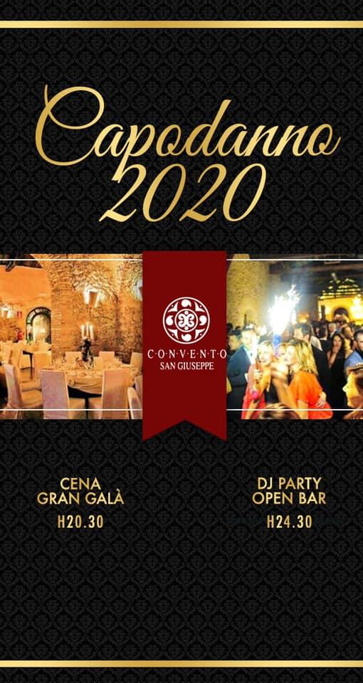 CAPODANNO CONVENTO S GIUSEPPE 2020