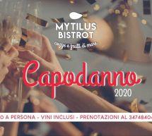 CENONE DI CAPODANNO 2020 AL MYTILUS BISTROT – CAGLIARI – MARTEDI 31 DICEMBRE 2019