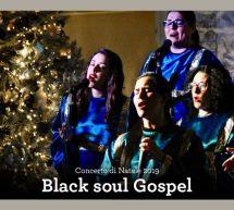 CONCERTO DI NATALE – BLACK SOUL GOSPEL – VILLA FANNY – CAGLIARI – VENERDI 13 DICEMBRE 2019