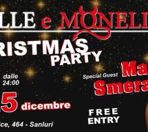CHRISTMAS PARTY con MARTINA SMERALDI – BELLE E MONELLE – SANLURI – 24-25 DICEMBRE 2019