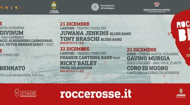 ROCCE ROSSE BLUES WINTER EDITION – 17 -23 DICEMBRE 2019