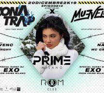 ZONA TRAP X MUEVELO – ROOM CLUB- CAGLIARI – VENERDI 20 DICEMBRE 2019