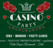 CAPODANNO CASINO PARTY – VILLA ASQUER – TUILI – MARTEDI 31 DICEMBRE 2019