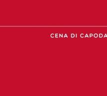 CENONE DI CAPODANNO 2020  AL CERCHIO ROSSO-  CAGLIARI – MARTEDI 31 DICEMBRE 2019
