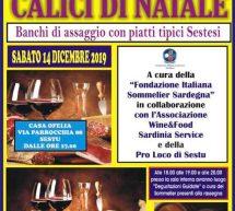CALICI DI NATALE -SESTU – SABATO 14 DICEMBRE 2019