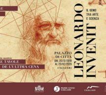 LEONARDO INVENIT – PALAZZO DI CITTA' – CAGLIARI – 20 DICEMBRE – 23 FEBBRAIO 2020