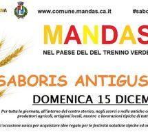 SABORIS ANTIGUS – MANDAS- DOMENICA 15 DICEMBRE 2019