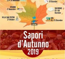 SAPORI D'AUTUNNO – SOLEMINIS – 7-8 DICEMBRE 2019