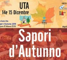 SAPORI D'AUTUNNO – UTA – 14-15 DICEMBRE 2019
