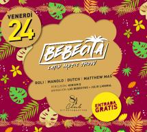 BEBECITA LATIN MUSIC SHOW – CLUB 84 – CAGLIARI – VENERDI 24 GENNAIO 2020