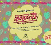 BEBECITA LATIN MUSIC SHOW – CLUB 84 – CAGLIARI – VENERDI 10 GENNAIO 2020