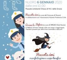 LA BEFANA DEL VIGILE URBANO – NUORO – LUNEDI 6 GENNAIO 2020