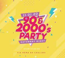 PARTY 90'S- 2000'S – CLUB 84 – CAGLIARI – SABATO 11 GENNAIO 2020