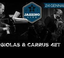 ARGIOLAS & CARRUS QUARTET – JAZZINO – CAGLIARI – VENERDI 24 GENNAIO 2020