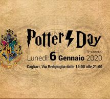 HARRY POTTER DAY – CAGLIARI – LUNEDI 6 GENNAIO 2020