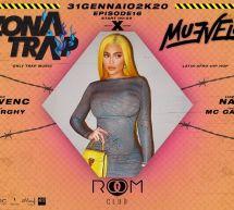 ZONA TRAP X MUEVELO – ROOM CLUB- CAGLIARI – VENERDI 31 GENNAIO 2020